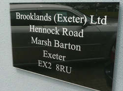 Name Plate Gallery