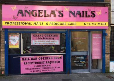 Angelas Nails plymouth