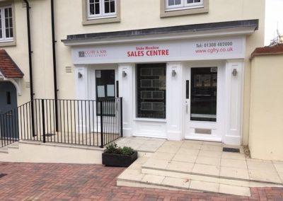 Stoke Meadow Sales Centre Shop Front