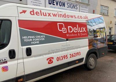 Delux windows van wrap