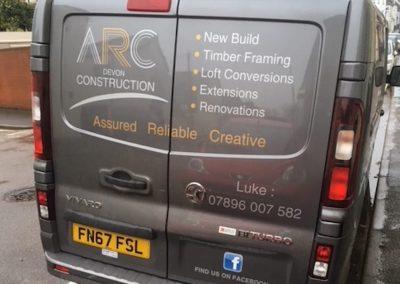 arc construction van