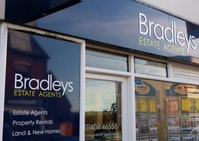 bradleys estate agents exmouth