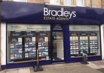 bradleys shop front