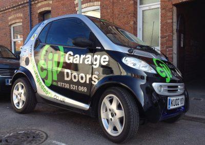 cjl garage doors smartcar