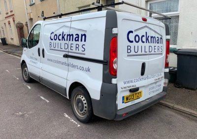 cockman van signage