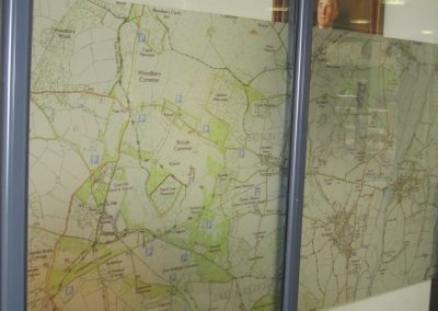 common map clinton