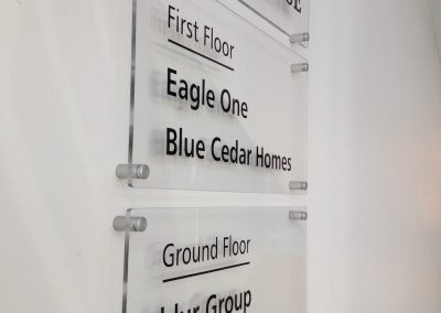 eagle house occupiers sign