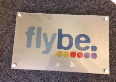 flybe plaque