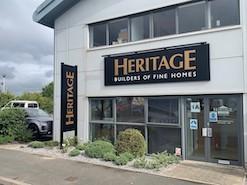 heritage builders fascia sign