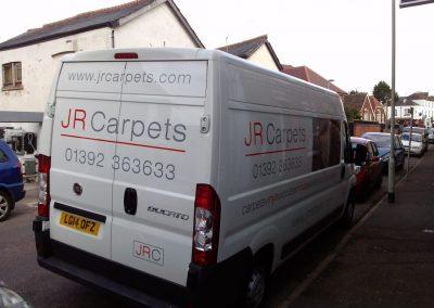 jr carpets van