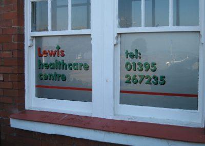 lewis healthcare centre