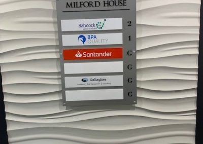 milford house sign