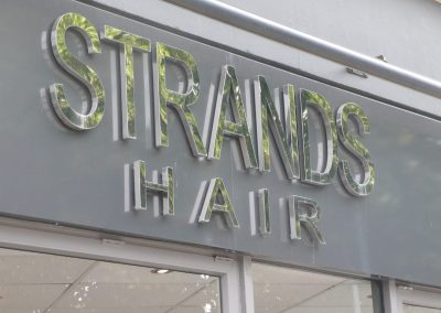 strands hair